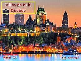 diaporama pps Villes de nuit – Québec