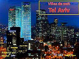 diaporama pps Villes de nuit – Tel Aviv