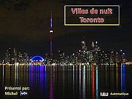 diaporama pps Villes de nuit Toronto