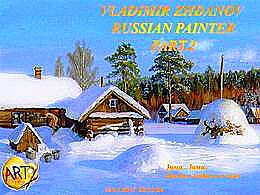 diaporama pps Vladimir Zhdanov 1959 russian painter part 2