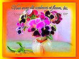 diaporama pps Vous avez dit couleurs et fleurs bis
