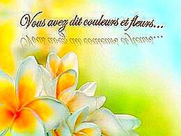 diaporama pps Vous avez dit couleurs et fleurs