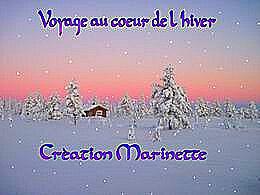 diaporama pps Voyage au cœur de l'hiver