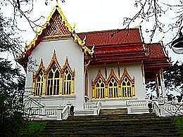 diaporama pps Wat Buddhapadipa à Londres