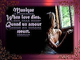 diaporama pps When love dies – Quand un amour meurt
