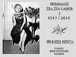 diaporama pps Hommage Zsa Zsa Gabor 2