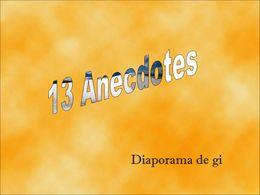 diaporama pps 13 anecdotes