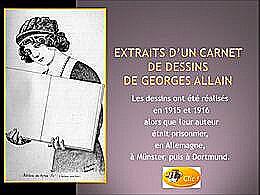diaporama pps 14-18 dessins de Georges Allain
