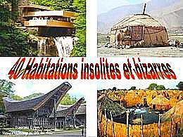 diaporama pps 40 habitations insolites