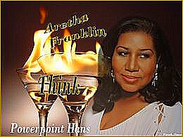 diaporama pps Aretha Franklin think