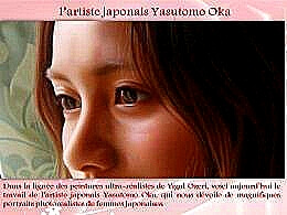 diaporama pps Artiste peintre japonais Yasutomo Oka