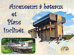 diaporama pps Ascenseurs à bateaux et plans inclinés