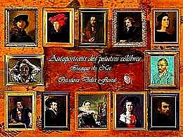 diaporama pps Autoportraits des peintres célèbres