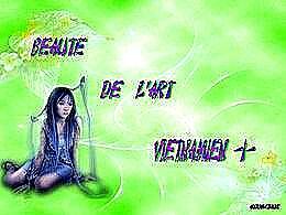 diaporama pps Beauté de l'art vietnamien I