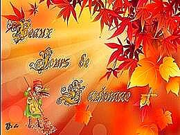diaporama pps Beaux jours de l'automne