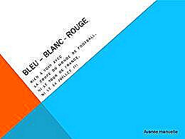 diaporama pps Bleu blanc rouge
