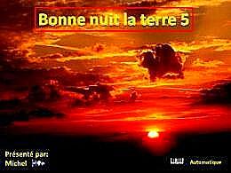 diaporama pps Bonne nuit la terre 5