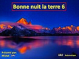 diaporama pps Bonne nuit la terre 6