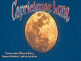 diaporama pps Capricieuse lune
