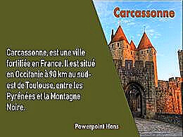 diaporama pps Carcassonne