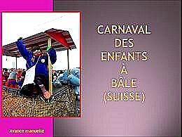 diaporama pps Carnaval de Bâle
