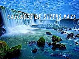 diaporama pps Cascades divers pays