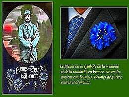 diaporama pps Centenaire 1914-1918 bleuets et coquelicots