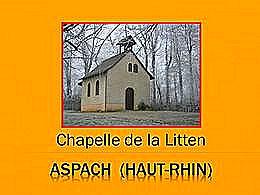 diaporama pps Chapelle de la Litten