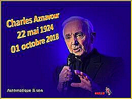 diaporama pps Charles Aznavour