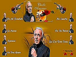 diaporama pps Charles Aznavour – Jukebox