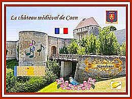 diaporama pps Château médiéval de Caen