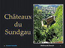 diaporama pps Châteaux du Sundgau