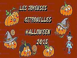 diaporama pps Citrouilles d'Halloween 2018