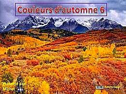 diaporama pps Couleurs d'automne 6