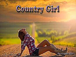 diaporama pps Country Girl