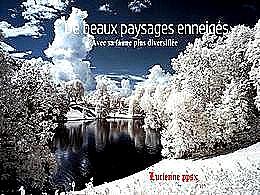 diaporama pps Beaux paysages enneigés – Faune diversifiée