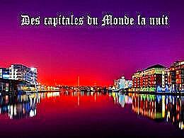 diaporama pps Des capitales du monde la nuit