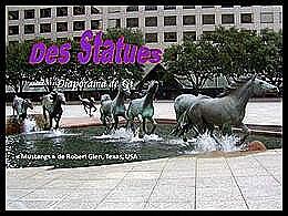 diaporama pps Des statues