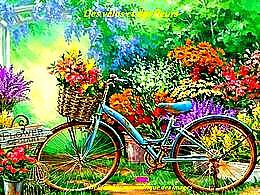 diaporama pps Des vélos et des fleurs