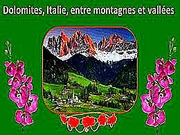 diaporama pps Dolomites – Italie entre montagnes et vallées