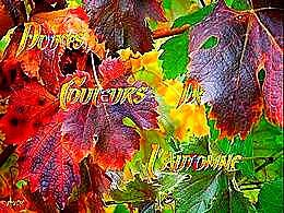 diaporama pps Douces couleurs de l'automne