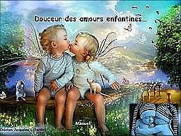 diaporama pps Douceur des amours enfantines
