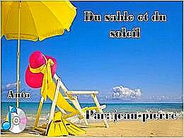 diaporama pps Du sable et du soleil