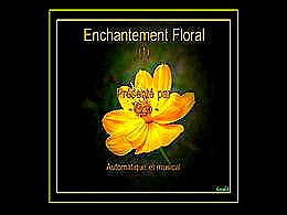 diaporama pps Enchantement floral