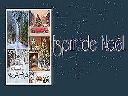 diaporama pps Esprit de Noël