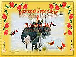 diaporama pps Estampes japonaises et chinoises bis
