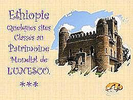 diaporama pps Éthiopie sites classés