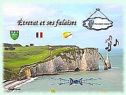 diaporama pps Étretat et ses falaises