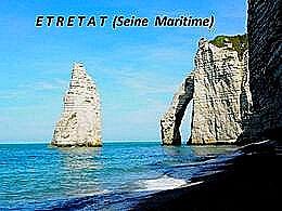 diaporama pps Étretat – Seine-Maritime