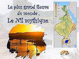 diaporama pps Fleuve mythique le Nil